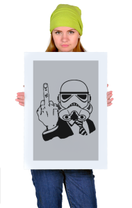Постер Фак Штурмовик | Fuck You Stormtrooper