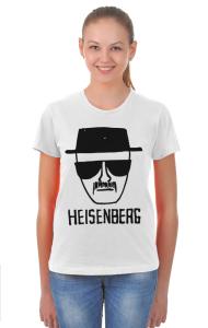 Футболка Во Все Тяжкие. Хайзенберг   Breaking Bad. Heisenberg