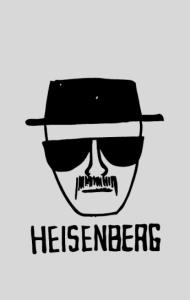Постер Во Все Тяжкие. Хайзенберг | Breaking Bad. Heisenberg