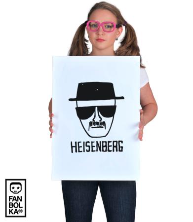 Постер Во Все Тяжкие. Хайзенберг   Breaking Bad. Heisenberg