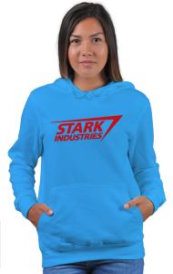 "Худи ""Старк Индастриз"" классик лого | ""Stark industries"" classic logo"