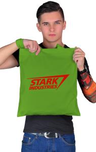"Сумка ""Старк Индастриз"" классик лого | ""Stark industries"" classic logo"