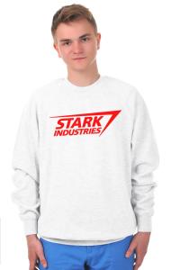 "Свитшот ""Старк Индастриз"" классик лого | ""Stark industries"" classic logo"