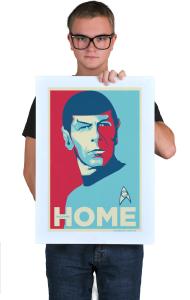 Постер Звездный путь - Мистер Спок. Домой | Star Trek - Mr. Spock. HOME