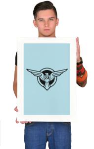 Постер  Капитан Америка SSR |Captain America SSR