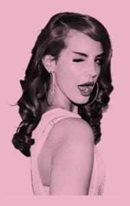 Постер Лана Дель Рей. Летняя печаль | Lana. Summertime Sadness