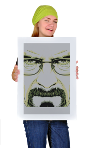 Постер Во Все Тяжкие. Уолтер Уайт | Breaking Bad. Walter White