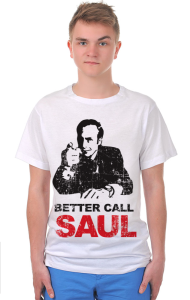 Футболка Позвоните Солу. Гранж | Better call Saul