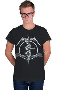Футболка Металлика Death Magnetic  Metallica Death Magnetic