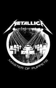Постер Металлика Master of Puppets | Metallica Master of Puppets