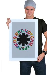 Постер Ред Хот Чили Пепперс №2    Red Hot Chili Peppers №2