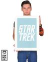 Плакат Звездный путь. Классическое лого