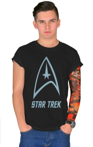 Футболка Стар Трек классик-лого №2 | Star Trek classic logo №2.
