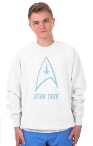 Свитшот Стар Трек классик-лого №2 | Star Trek classic logo №2.