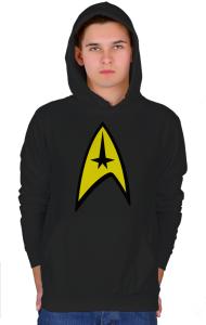Худи Стар Трек классик-лого №3  | Star Trek classic logo №3.