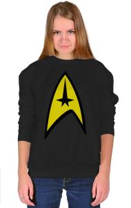 Свитшот Стар Трек классик-лого №3  | Star Trek classic logo №3.