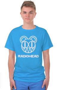 Футболка Радиохед лого | Radiohead classic logo