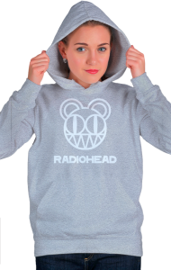 Худи Радиохед лого | Radiohead classic logo