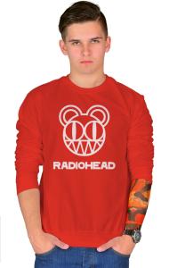 Свитшот Радиохед лого | Radiohead classic logo