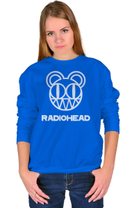 Свитшот Радиохед лого   Radiohead classic logo