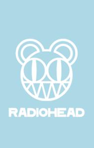 Постер Радиохед лого | Radiohead classic logo