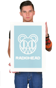 Постер Радиохед лого | Radiohead classic logo