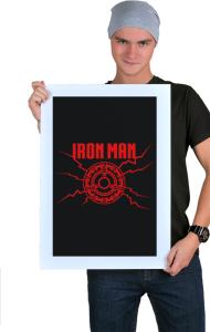 Постер Железный Человек| Iron Man