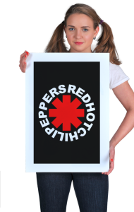Постер Ред Хот Чили Пепперс #1   Red Hot Chili Peppers #1