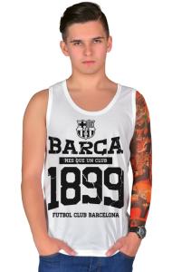 Футболка ФК Барселона c 1899. Винтаж   Barca FC 1899. Vintage