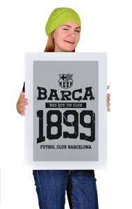 Постер ФК Барселона c 1899. Винтаж | Barca FC 1899. Vintage
