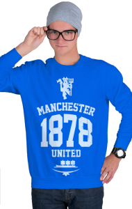 Свитшот ФК Манчестер 1878 | FC Manchester United 1878 black