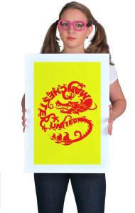 Постер ФК Манчестер Дракон | FC Manchester United Dragon
