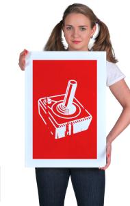Постер Джойстик Олдскул | Joystick Old School