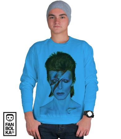 Свитшот Дэвид Боуи. Аладдин Разумный | David Bowie. Aladdin Sane