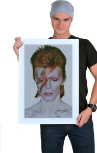 Постер Дэвид Боуи. Аладдин Разумный | David Bowie. Aladdin Sane