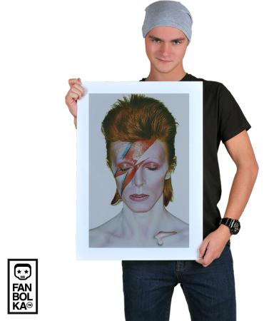 Постер Дэвид Боуи. Аладдин Разумный   David Bowie. Aladdin Sane