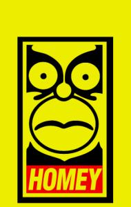 Постер Гомей. Гомер Симпсон | HOMEY. Homer Simpson