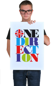 Постер Ван Дирекшн. Пипл |One Direction. People