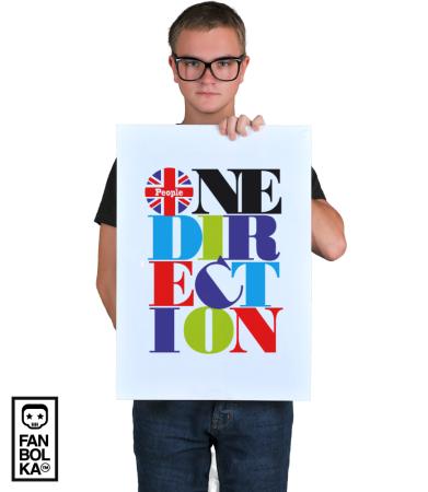 Постер Ван Дирекшн. Пипл |One Direction. People