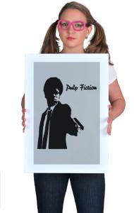 "Постер Тарантино ""Криминальное чтиво"" | Tarantino ""Pulp Fiction""."