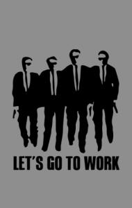 "Постер  Тарантино ""Бешеные Псы"" | Tarantino ""Reservoir Dogs"""