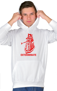 "Худи Далек ""Доктор Кто. Уничтожить"" 