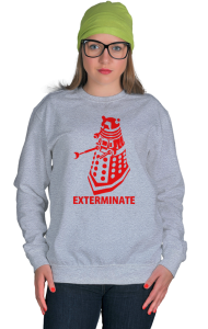 "Свитшот Далек ""Доктор Кто. Уничтожить"" 