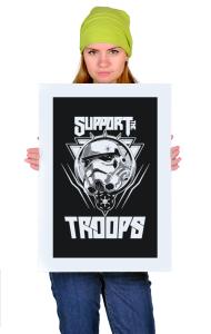 Постер Штурмовик. Звездные Войны   Storm Trooper. Star Wars