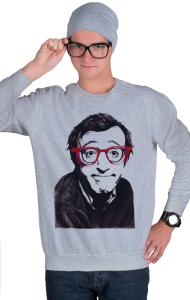 Свитшот Вуди Аллен | Woody Allen