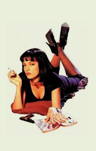 Постер Криминальное Чтиво. Миа | Pulp Fiction. Mia