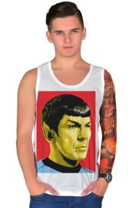 Футболка Звездный путь. Мистер Спок | Star Trek. Mister Spock