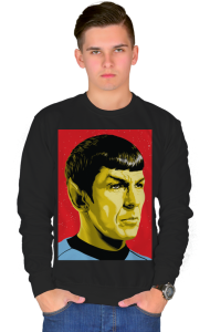 Свитшот Звездный путь. Мистер Спок | Star Trek. Mister Spock