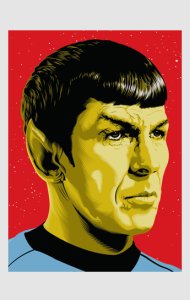Постер Звездный путь. Мистер Спок | Star Trek. Mister Spock
