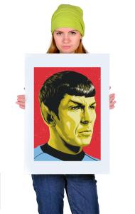 Постер Звездный путь. Мистер Спок   Star Trek. Mister Spock